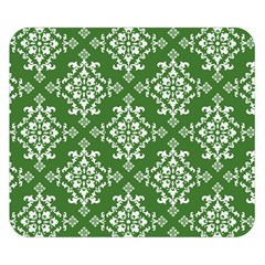 St Patrick S Day Damask Vintage Green Background Pattern Double Sided Flano Blanket (Small)