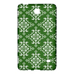St Patrick S Day Damask Vintage Green Background Pattern Samsung Galaxy Tab 4 (7 ) Hardshell Case