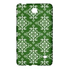 St Patrick S Day Damask Vintage Green Background Pattern Samsung Galaxy Tab 4 (8 ) Hardshell Case