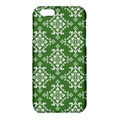 St Patrick S Day Damask Vintage Green Background Pattern iPhone 6/6S TPU Case