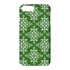 St Patrick S Day Damask Vintage Green Background Pattern Apple Iphone 7 Plus Hardshell Case
