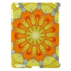 Sunshine Sunny Sun Abstract Yellow Apple iPad 3/4 Hardshell Case (Compatible with Smart Cover)