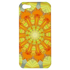 Sunshine Sunny Sun Abstract Yellow Apple iPhone 5 Hardshell Case