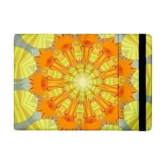 Sunshine Sunny Sun Abstract Yellow Apple iPad Mini Flip Case