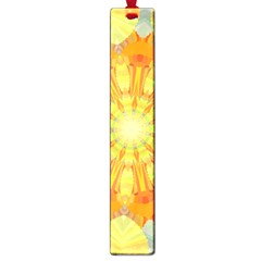 Sunshine Sunny Sun Abstract Yellow Large Book Marks
