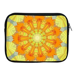 Sunshine Sunny Sun Abstract Yellow Apple iPad 2/3/4 Zipper Cases