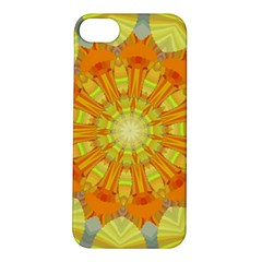 Sunshine Sunny Sun Abstract Yellow Apple iPhone 5S/ SE Hardshell Case
