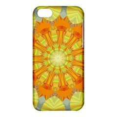 Sunshine Sunny Sun Abstract Yellow Apple iPhone 5C Hardshell Case