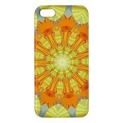 Sunshine Sunny Sun Abstract Yellow iPhone 5S/ SE Premium Hardshell Case