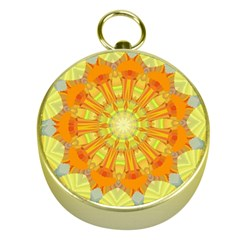 Sunshine Sunny Sun Abstract Yellow Gold Compasses