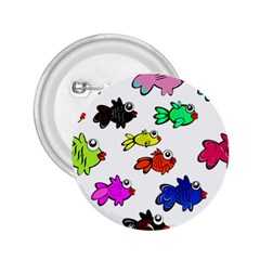 Fishes Marine Life Swimming Water 2 25  Buttons