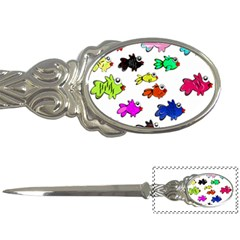 Fishes Marine Life Swimming Water Letter Openers