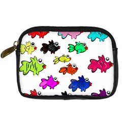 Fishes Marine Life Swimming Water Digital Camera Cases
