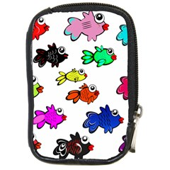 Fishes Marine Life Swimming Water Compact Camera Cases