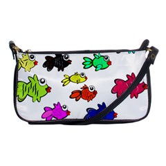 Fishes Marine Life Swimming Water Shoulder Clutch Bags