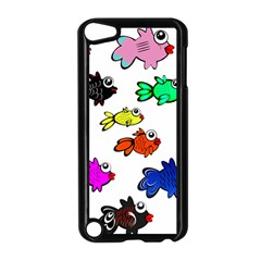 Fishes Marine Life Swimming Water Apple Ipod Touch 5 Case (black)