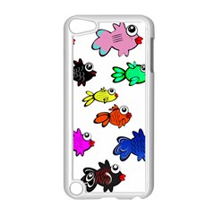 Fishes Marine Life Swimming Water Apple iPod Touch 5 Case (White)