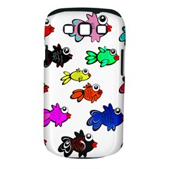 Fishes Marine Life Swimming Water Samsung Galaxy S III Classic Hardshell Case (PC+Silicone)