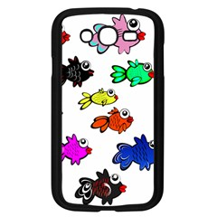 Fishes Marine Life Swimming Water Samsung Galaxy Grand DUOS I9082 Case (Black)
