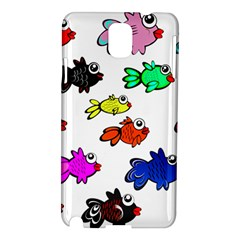 Fishes Marine Life Swimming Water Samsung Galaxy Note 3 N9005 Hardshell Case