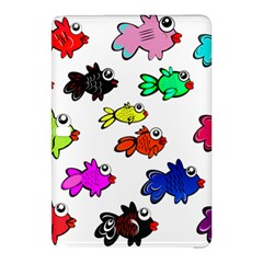 Fishes Marine Life Swimming Water Samsung Galaxy Tab Pro 10 1 Hardshell Case