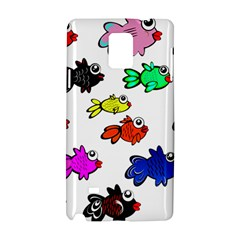 Fishes Marine Life Swimming Water Samsung Galaxy Note 4 Hardshell Case