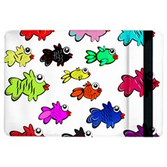 Fishes Marine Life Swimming Water iPad Air 2 Flip