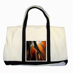 Fractal Structure Mathematics Two Tone Tote Bag