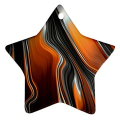 Fractal Structure Mathematics Star Ornament (Two Sides)