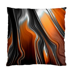 Fractal Structure Mathematics Standard Cushion Case (two Sides)