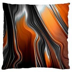 Fractal Structure Mathematics Large Cushion Case (One Side)