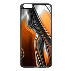Fractal Structure Mathematics Apple Iphone 6 Plus/6s Plus Black Enamel Case