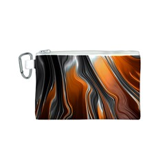 Fractal Structure Mathematics Canvas Cosmetic Bag (S)