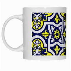 Tiles Panel Decorative Decoration White Mugs