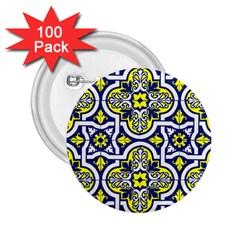 Tiles Panel Decorative Decoration 2.25  Buttons (100 pack)