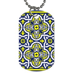 Tiles Panel Decorative Decoration Dog Tag (one Side)