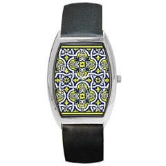 Tiles Panel Decorative Decoration Barrel Style Metal Watch