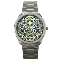 Tiles Panel Decorative Decoration Sport Metal Watch