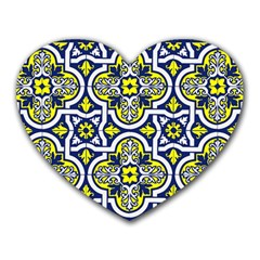 Tiles Panel Decorative Decoration Heart Mousepads