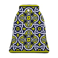 Tiles Panel Decorative Decoration Bell Ornament (two Sides)