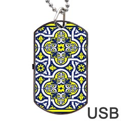 Tiles Panel Decorative Decoration Dog Tag USB Flash (One Side)