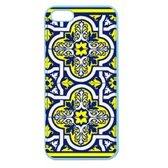 Tiles Panel Decorative Decoration Apple Seamless iPhone 5 Case (Color)