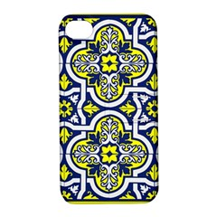 Tiles Panel Decorative Decoration Apple iPhone 4/4S Hardshell Case with Stand