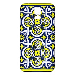 Tiles Panel Decorative Decoration Samsung Galaxy S5 Back Case (White)