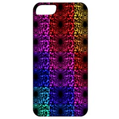 Rainbow Grid Form Abstract Apple iPhone 5 Classic Hardshell Case