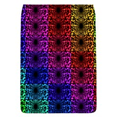 Rainbow Grid Form Abstract Flap Covers (L)