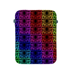 Rainbow Grid Form Abstract Apple iPad 2/3/4 Protective Soft Cases
