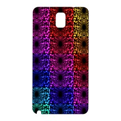Rainbow Grid Form Abstract Samsung Galaxy Note 3 N9005 Hardshell Back Case