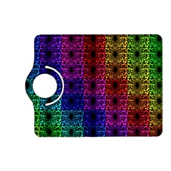 Rainbow Grid Form Abstract Kindle Fire HD (2013) Flip 360 Case