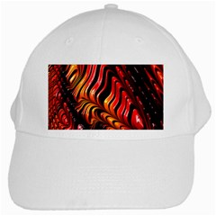 Fractal Mathematics Abstract White Cap
